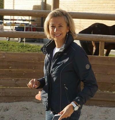Carine Jacquier, fondatrice de Qilin, professionnelle de l'equicoaching